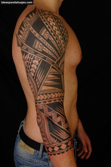 260 Tatuajes Maories para Hombres diseos y significados
