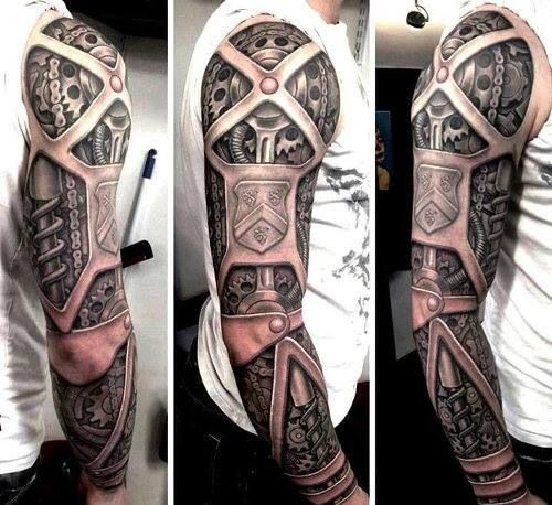 220 Tatuajes 3d Para Hombres