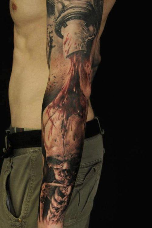 tatuajes 3d brazo