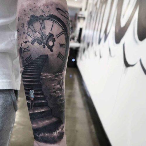 Tatuajes Del Tiempo 95 tatuajes para hombres en el brazo ideas excelentes
