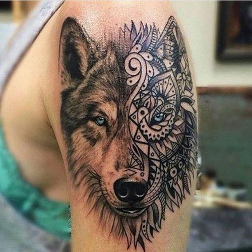 Tatuaje De Un Leon Sfb
