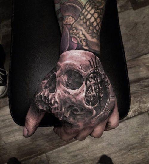 101 Diseños De Tatuajes En La Mano Para Hombres