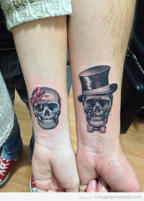 Tatuajes Parejas Amor tatuajes para parejas que quieren marcar su amor para siempre