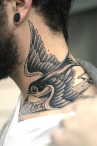 220 Tatuajes En El Cuello Fotos Y Disenos Increibles