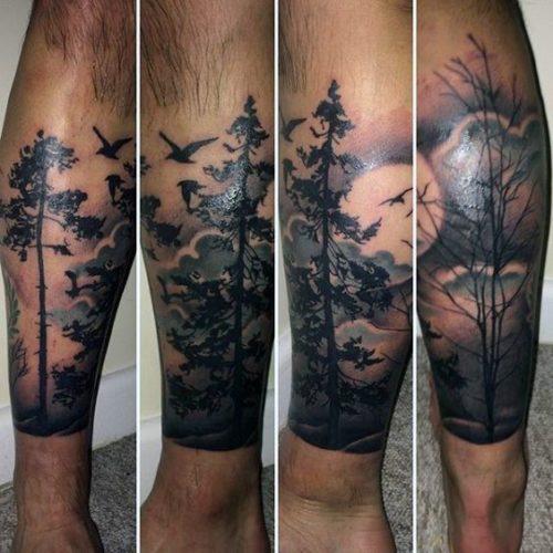 Tatuajes En La Pierna Para Hombres Con Los Mejores Disenos