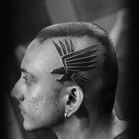Diseños Tatuajes Tribales En La Cabeza Wwwimagenesmycom