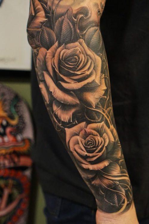 Tatuajes En Todo El Brazo Con Disenos Exclusivos