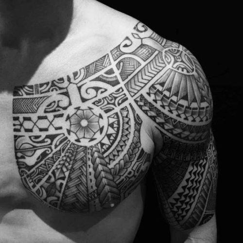 Disenos De Tatuajes En El Pecho Para Hombres