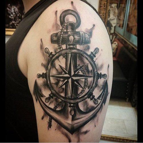 Tatuajes De Anclas Imágenes Ideas Y Significados