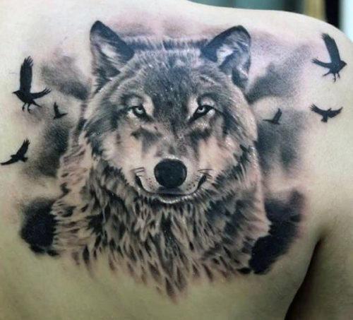 Tatuajes De Lobos Imagenes Disenos Y Significados