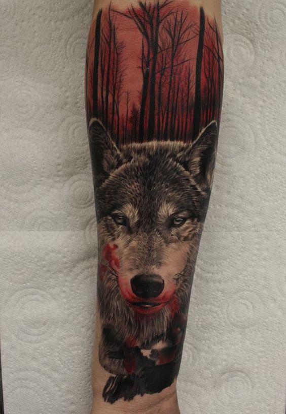 tatuajes de lobos im genes dise os y significados. Black Bedroom Furniture Sets. Home Design Ideas