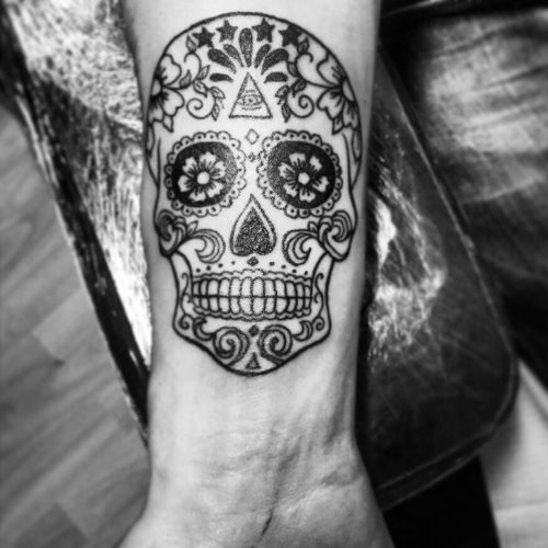 Geniales Tatuajes De Calaveras Mexicanas