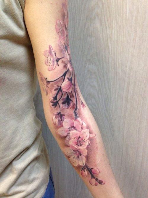 Tatuaje De Cerezo Japones Sfb
