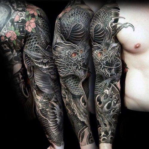 Tattoo Brazo Hombre Japones los mejores tatuajes del mundo 2018 increibles!!