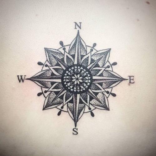 Tatuajes De Brújulas Y Su Significado Fotos Con Los
