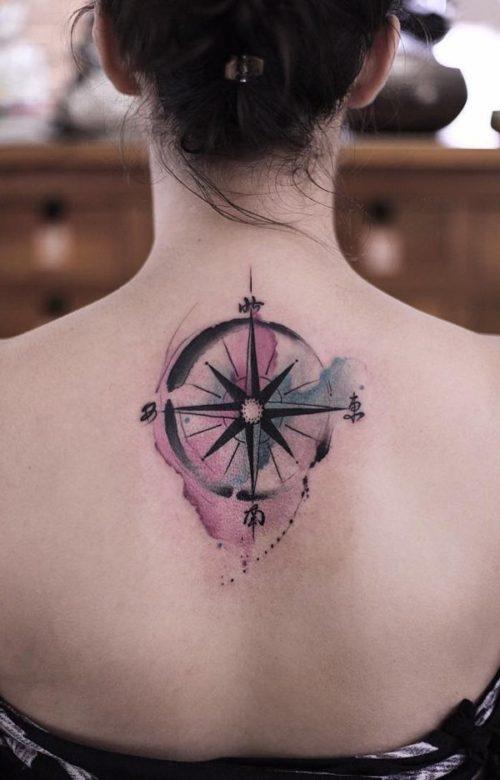 Tatuajes De Brujulas Y Su Significado Fotos Con Los Mejores Disenos