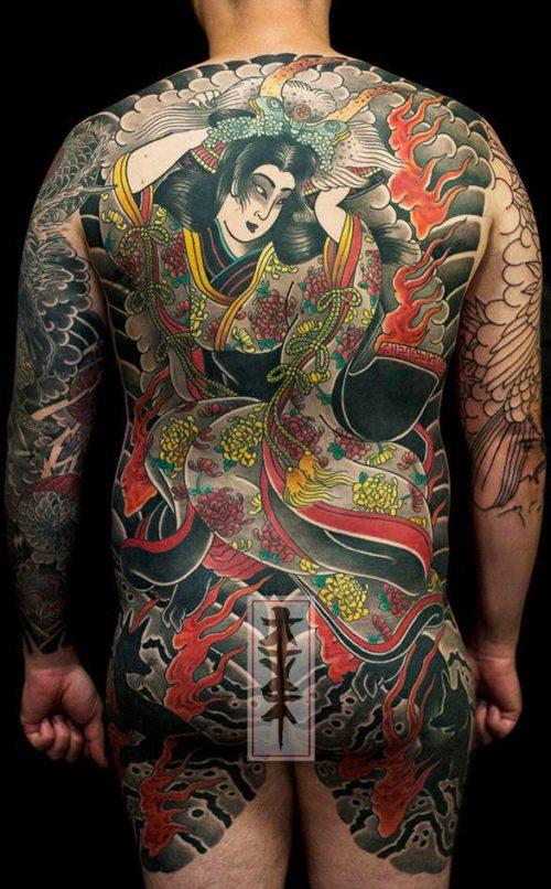 Tatuajes japoneses fotos diseos y significados