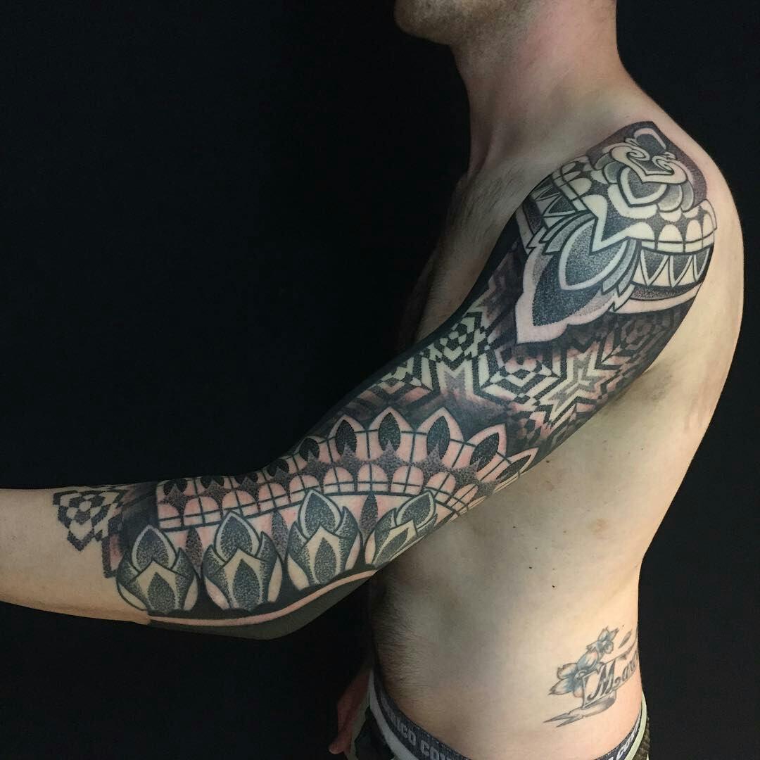 Tatuajes Mandala Brazo