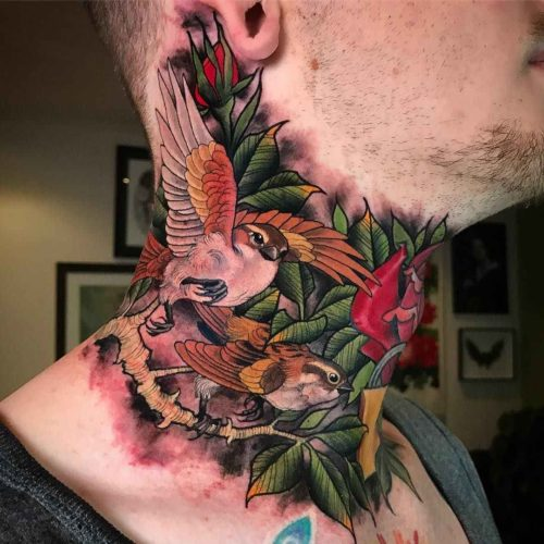 Tatuajes A Color Geniales Para Inspirarte