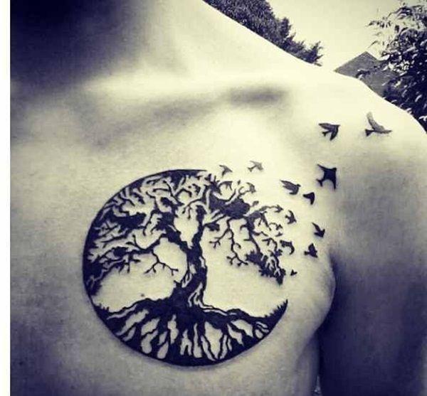 Arbol De La Vida Tatuaje Celta Sfb