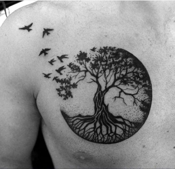 Tatuajes De árbol De La Vida Ideas Diseños Y Significado
