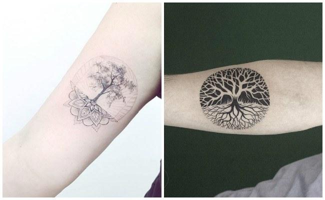 Tatuajes De Arbol De La Vida Ideas Disenos Y Significado