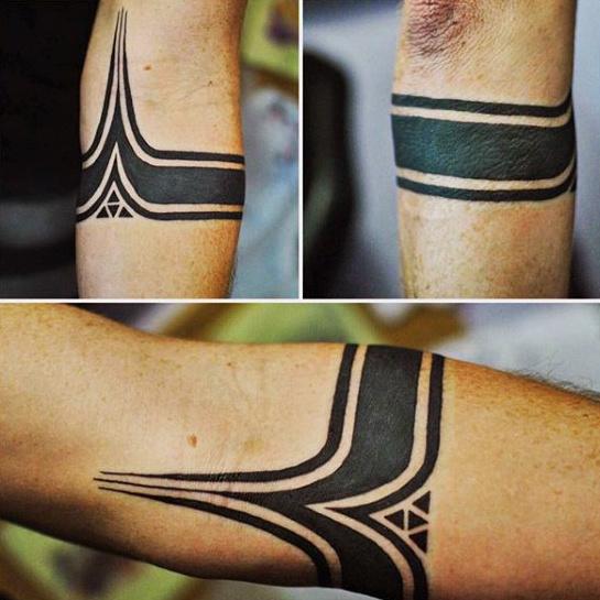 Tatuajes En El Antebrazo Ideas Y Disenos Increibles - Tatuajes-de-brazaletes-para-el-brazo