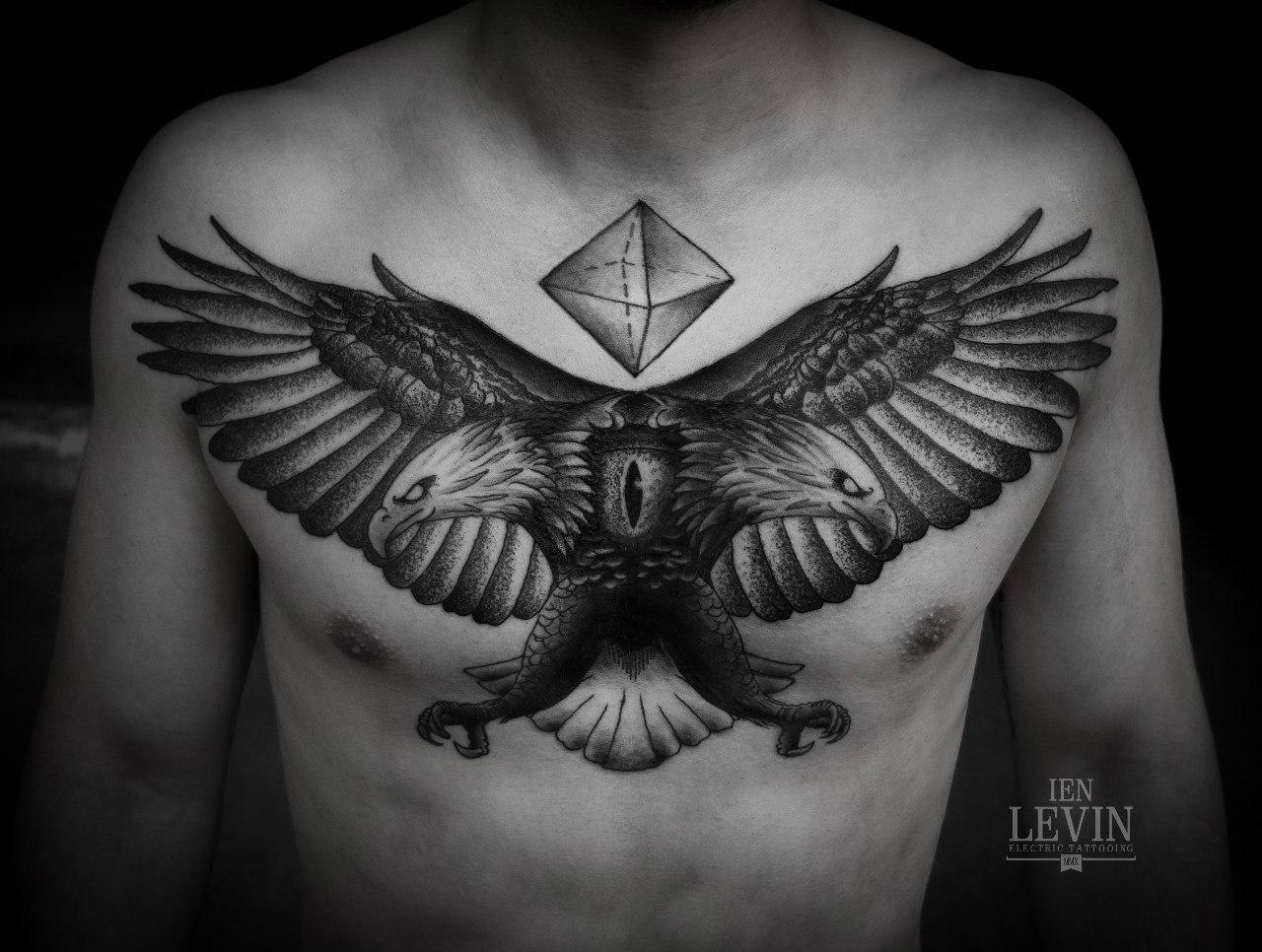 Tatuajes De Aguilas Con Disenos Increibles Y Su Gran Significado