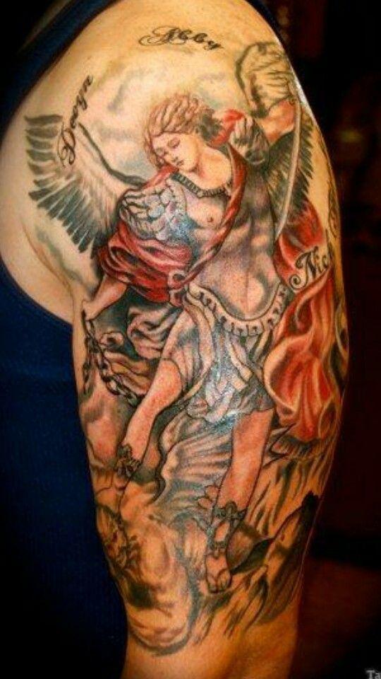 Tatuajes De ángeles Para Hombres