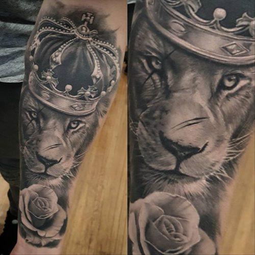 Tatuajes De Leones Estilos Y Disenos