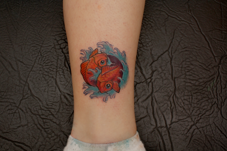 Tatuajes Japoneses Del Pez Koi Espectaculares
