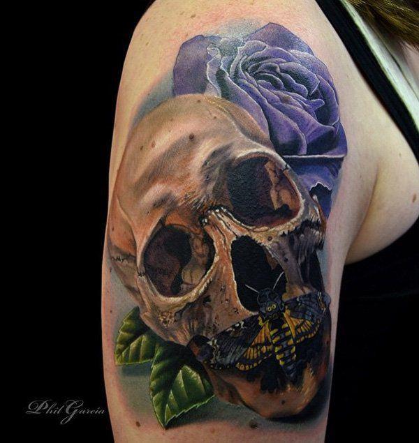 Tatuajes De Calaveras Diseños E Ideas Creativas