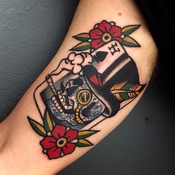 Tatuajes de calaveras: diseños e ideas creativas