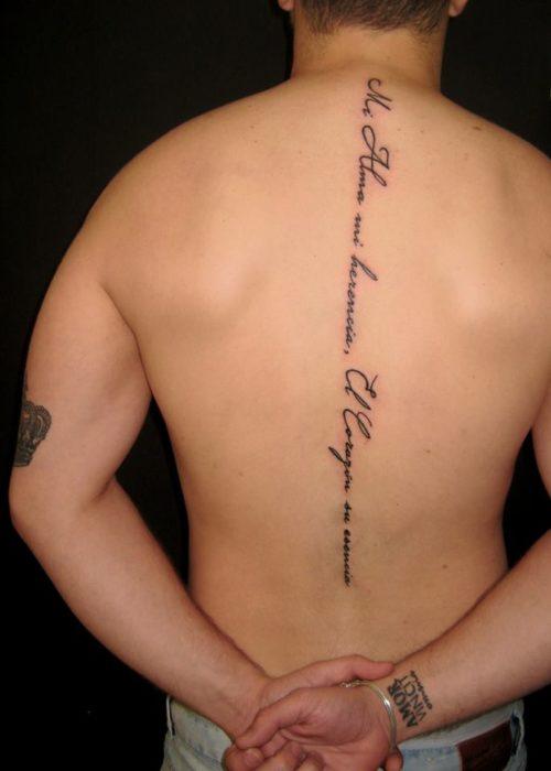 De 120 Tatuajes De Frases Para Hombres
