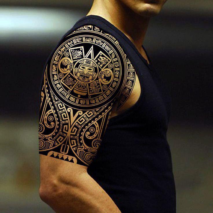 60 Tatuajes Mayas Y Su Significado Mejores 2018