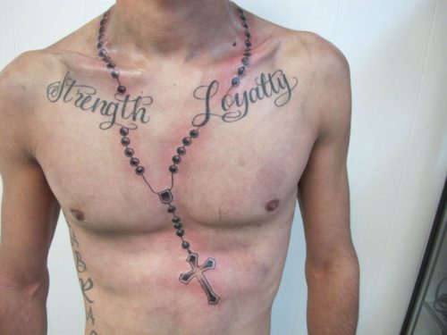 Tatuajes De Rosarios 60 Fotos Con Diseños Increibles