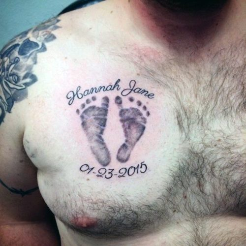 Tatuajes De Pies De Bebe Para Mujeres Sfb