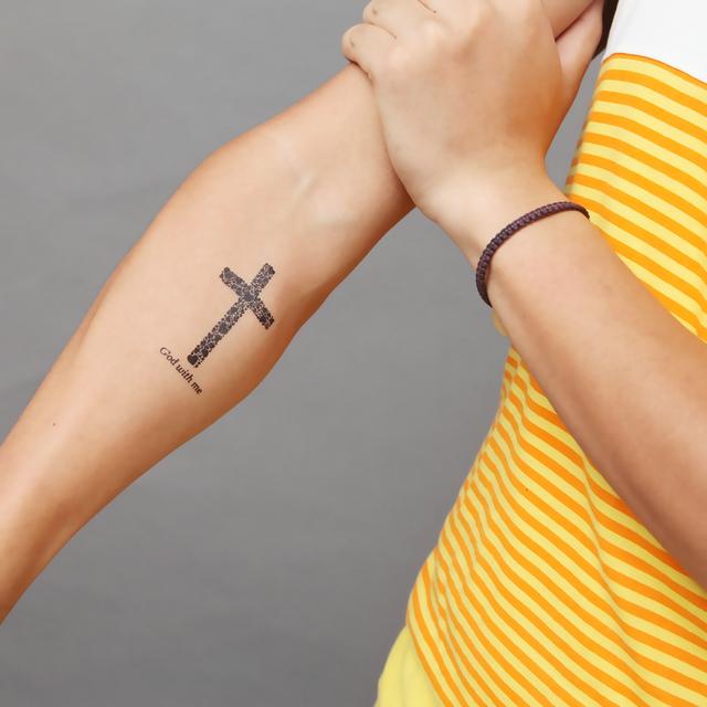 Tatuajes Espectaculares De Cruces Para Hombres