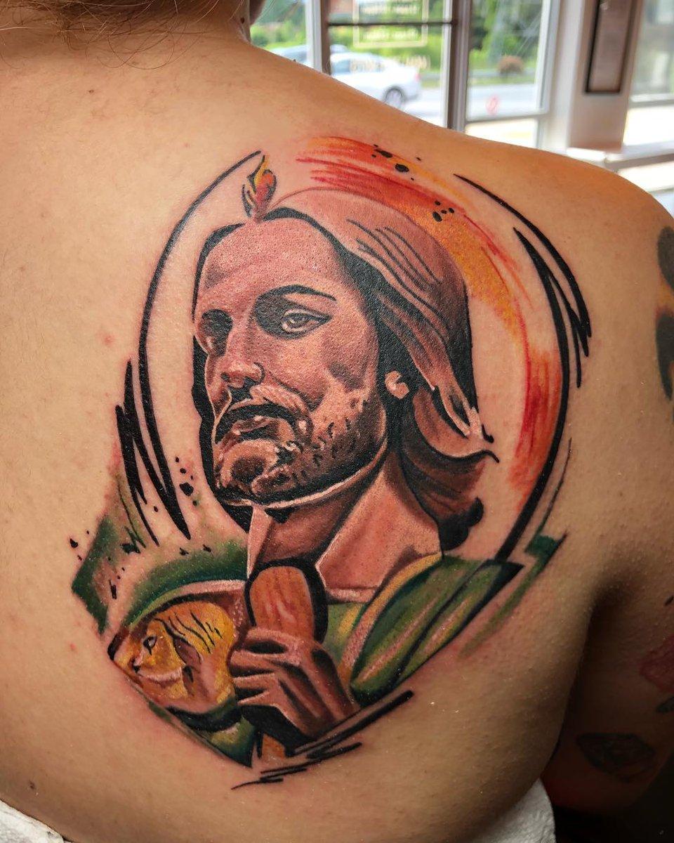 San Judas Tattoo: Los Mejores Tatuajes De San Judas Tadeo Y Su Significado